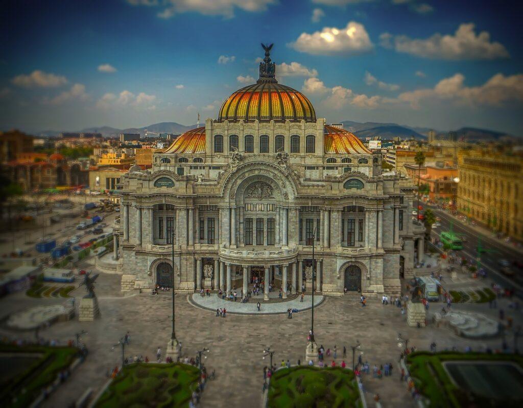 mexico art palace mexico city
